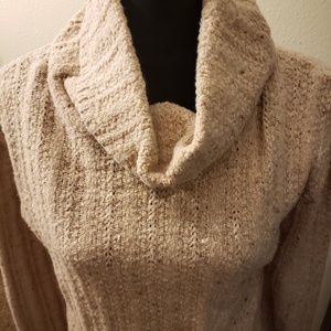 Ann Taylor cowl neck sweater size M